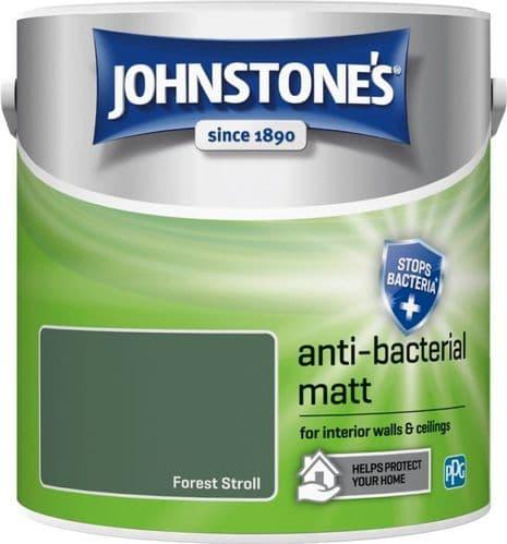 Johnstone's Anti Bacterial Matt 2.5L - Forest Stroll